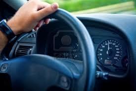 le volant d'une voiture